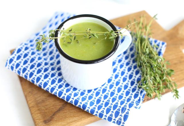 French bean soup