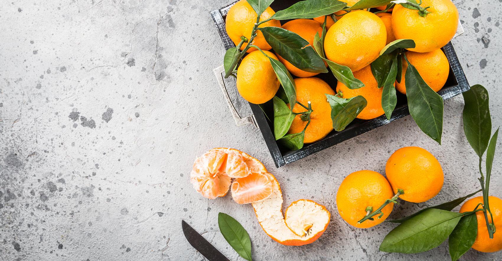 Spaanse Okitsu mandarijnen